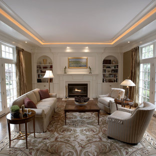 Inspiration for a timeless formal living room remodel in Denver