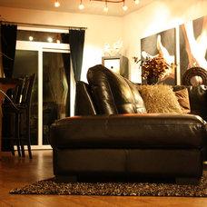 Contemporary Living Room by MARS Design