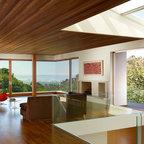 Fieldstone House Contemporary Living Room Milwaukee