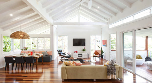 Contemporary Living Room by Skyring Architects