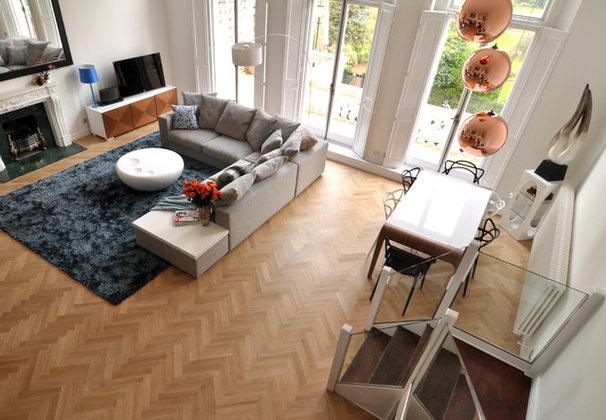 Contemporary Living Room by Kia Designs