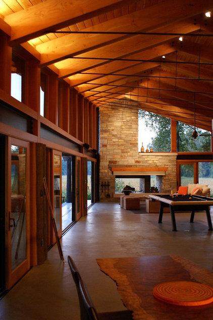Eclectic Living Room by Robert J. Neylan Architects, Ltd.