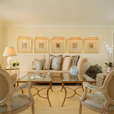 Traditional Living Room by Brad Weesner Design