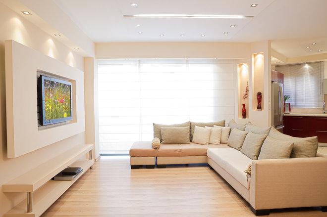 Modern Living Room by Elegant Simplicity Interiors, LLC