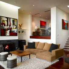 Modern Living Room by Levy Art & Architecture