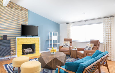 4 Ways to Bring Color Blocking Home