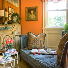 traditional living room by Chad Chenier Photography