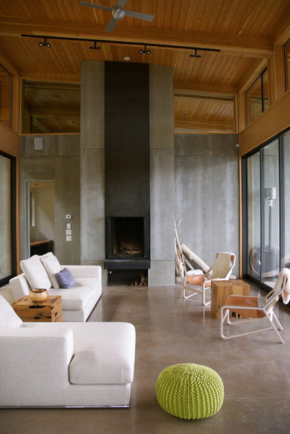 Contemporary Living Room by Michelle Burgess Design