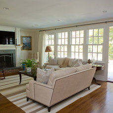 Traditional Living Room by SJMac Gregor Builders, LLC