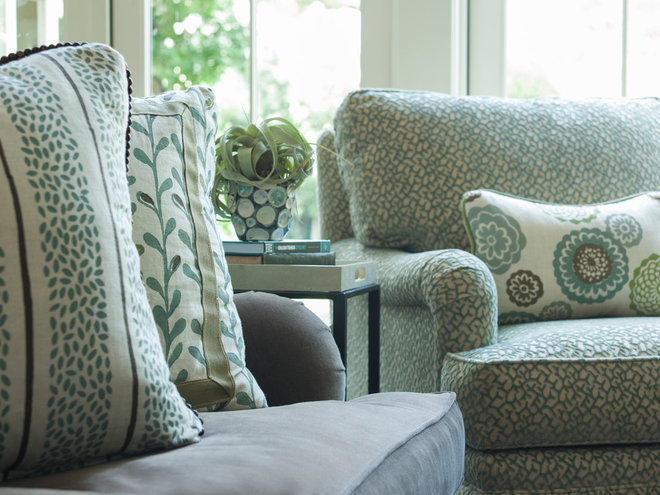 Contemporary Living Room by Ann Lowengart Interiors