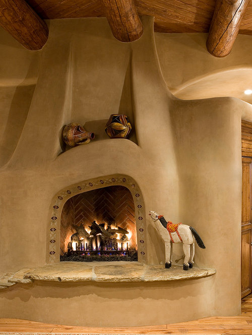 Beehive fireplace home design ideas pictures remodel and for Southwestern fireplaces