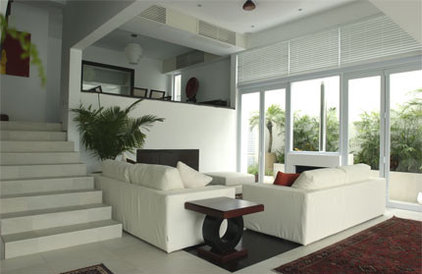 Contemporary Living Room by Original Vision Limited