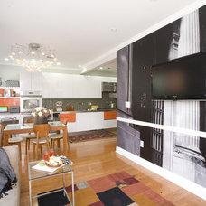 Modern Living Room by Brunelleschi Construction
