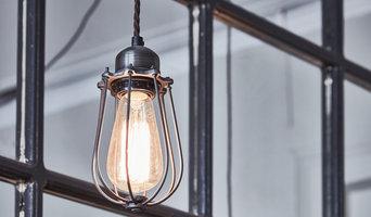 Orlando Vintage Cage Pendant Light - Brass