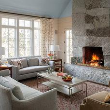 Contemporary Living Room by Banks Design Associates, LTD & Simply Home