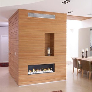 Ortal Clear 130 Fireplace