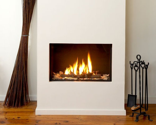 SaveEmail - Best Modern Fireplace Insert Design Ideas & Remodel Pictures Houzz