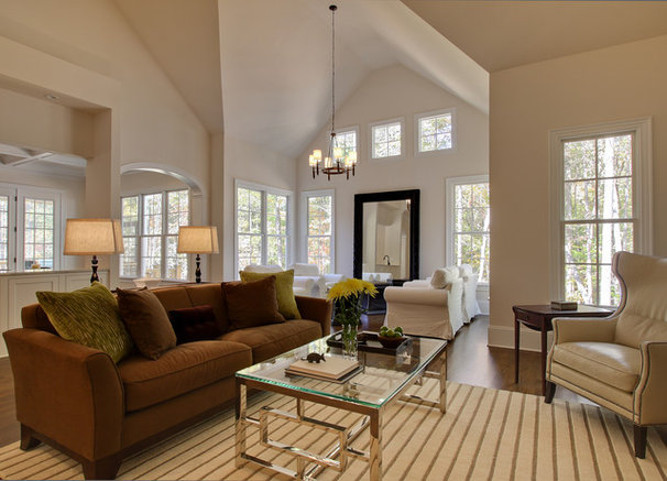 Contemporary Living Room by Tad Davis Photography