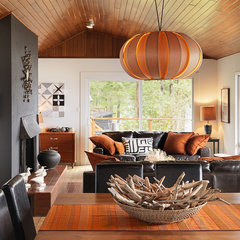 contemporary living room by Johnson + McLeod Design Consultants