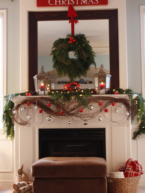How To Decorate A Mantel fireplace mantel decorating ideas | houzz
