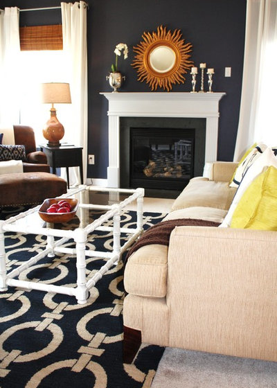 Transitional Living Room by Emily A. Clark