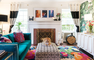 New This Week: 4 Colorful Living Rooms With Personality
