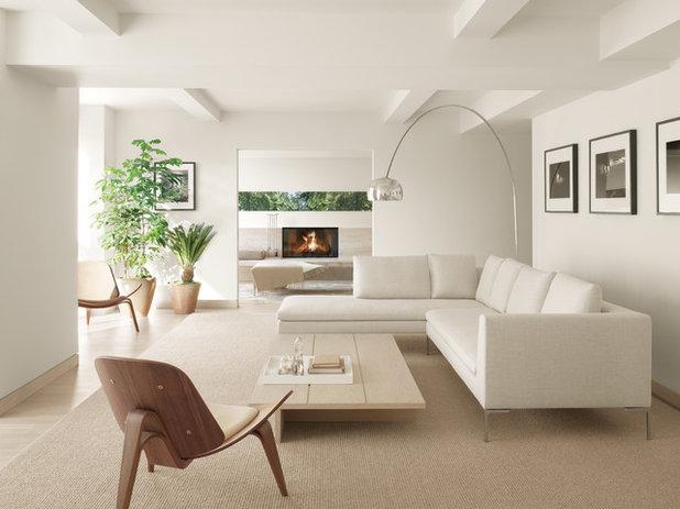 Scandinavian Living Room by Gabellini Sheppard Associates