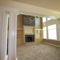 Traditional Living Room by Triple R Builders