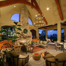 Traditional Living Room by Jones Clayton Construction