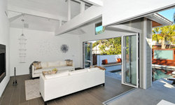 Outdoor Pool House and Entertaining Area