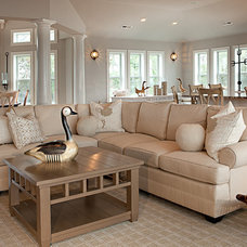 Traditional Living Room by Details Interiors, LLC