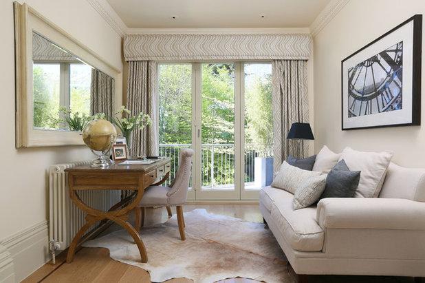 トラディショナル リビング by Decor Elegant   Bespoke Interior Design