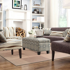 Transitional Living Room by Overstock.com