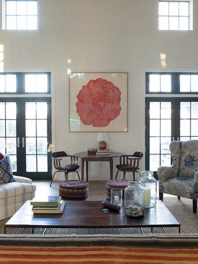 Eclectic Living Room by Hendricks Churchill