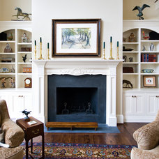 Eclectic Living Room by Marshall M. Driver Architect