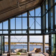 Beach Style Living Room by NanaWall