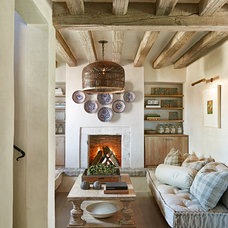rustic living room by Don Ziebell