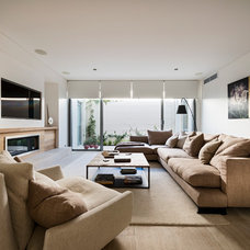 Contemporary Living Room by Liz Prater Design Home