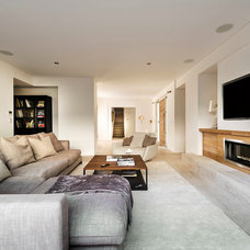 Modern Living Room by Swell Homes