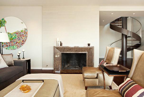 Modern Living Room by Matarozzi Pelsinger Builders