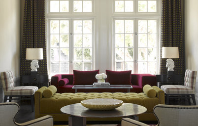 Room of the Day: Eclectic Elegance for a Victorian Living Room
