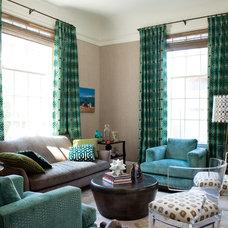 Contemporary Living Room Pacific Avenue