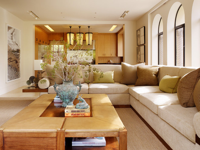 Contemporary Living Room by BAR Architects