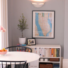 Eclectic Living Room Pacific Heights Apartment