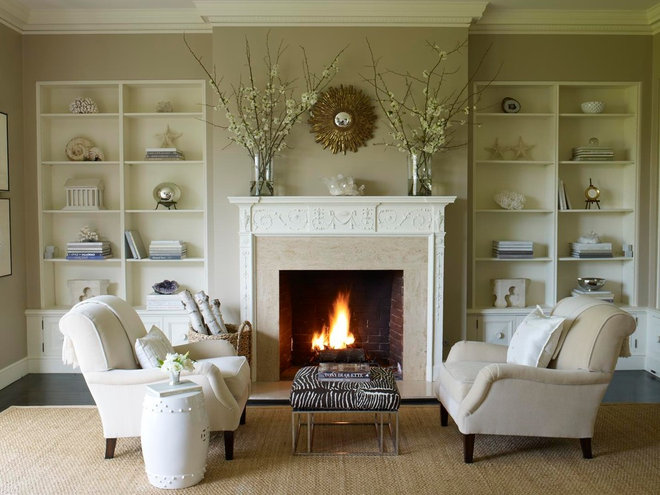 traditional living room by Benjamin Dhong Interiors
