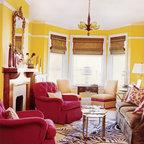Emily Ruddo Design Traditional Living Room Los