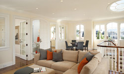 Pacific Heights Home Living Room