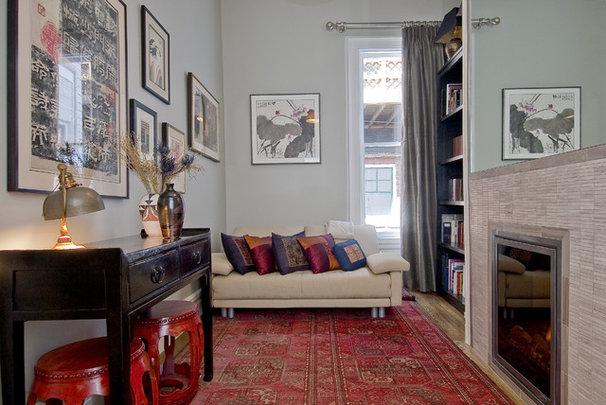 Contemporary Living Room by EAG Studio