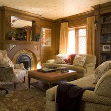Traditional Living Room by Muratore Corporation