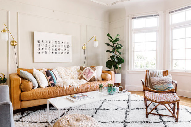 Scandinavian Living Room by Nicole Newkirk